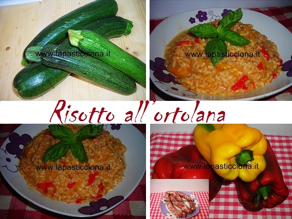 Risotto all'ortolana 8