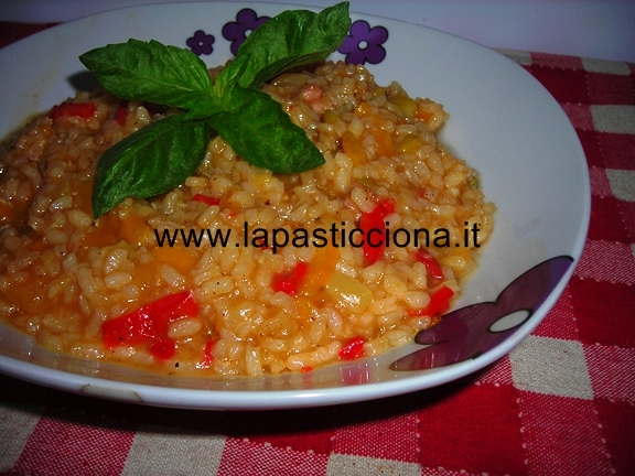Risotto all'ortolana 9