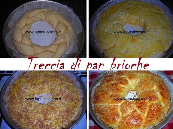 Treccia di pan brioche 15