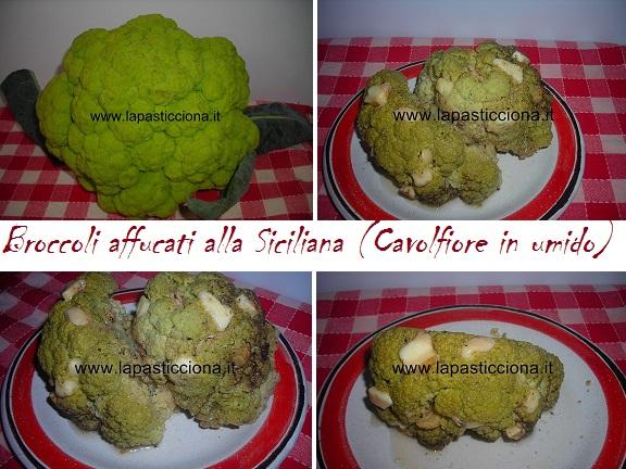 Broccoli affucati alla Siciliana (Cavolfiore in umido) 8