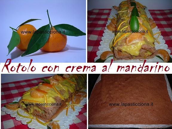 Rotolo con crema al mandarino 8