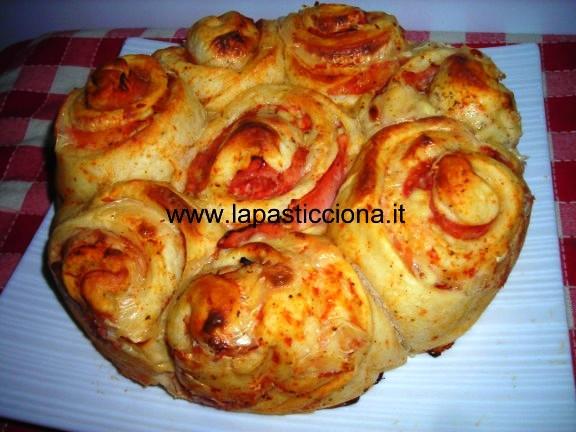 Torta delle rose salata 4