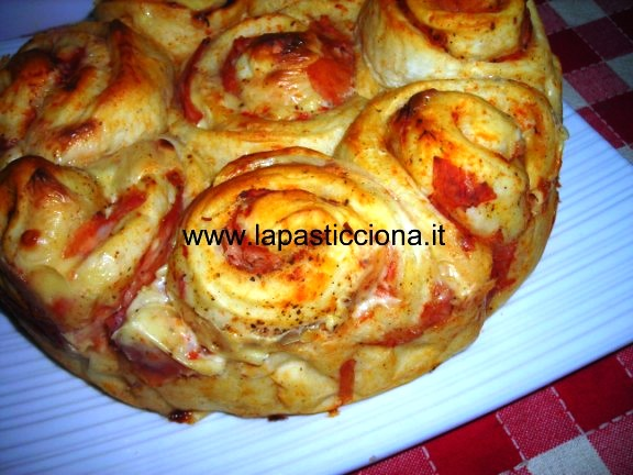 Torta delle rose salata 5