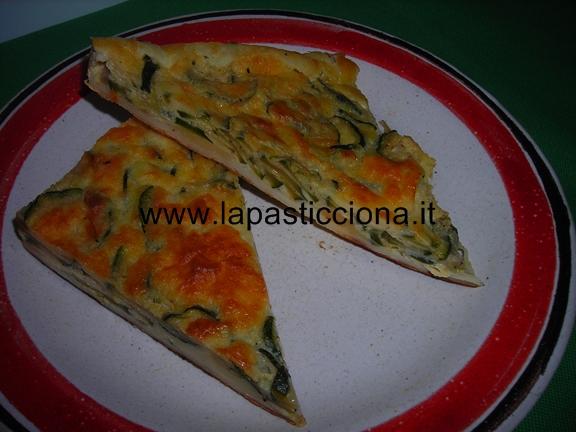 Torta salata con zucchine e primo sale