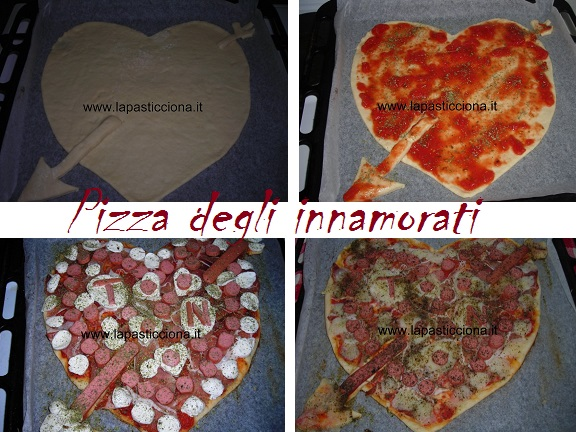 Pizza degli innamorati