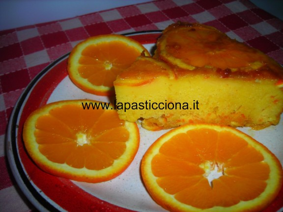 Torta all'arancia 9