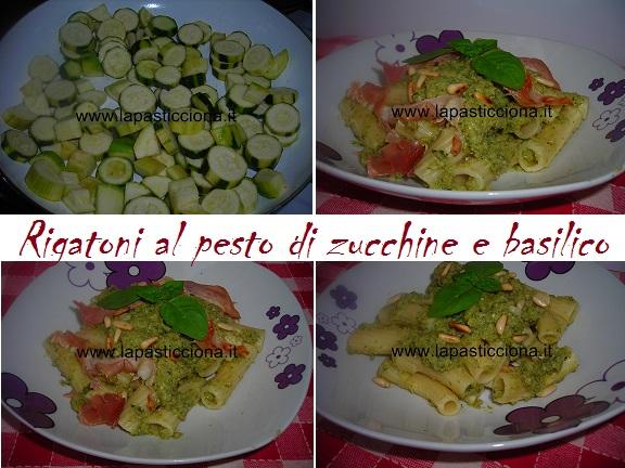 Rigatoni al pesto di zucchine e basilico 8
