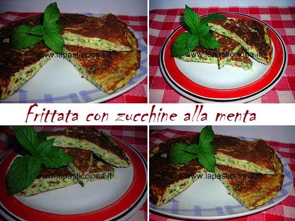 Frittata con zucchine alla menta
