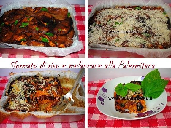 Sformato di riso e melanzane alla Palermitana