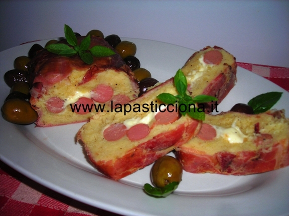 Rotolo di patate in crosta