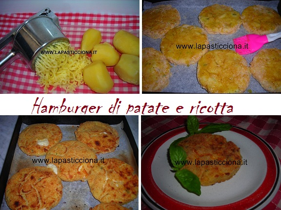 Hamburger di patate e ricotta