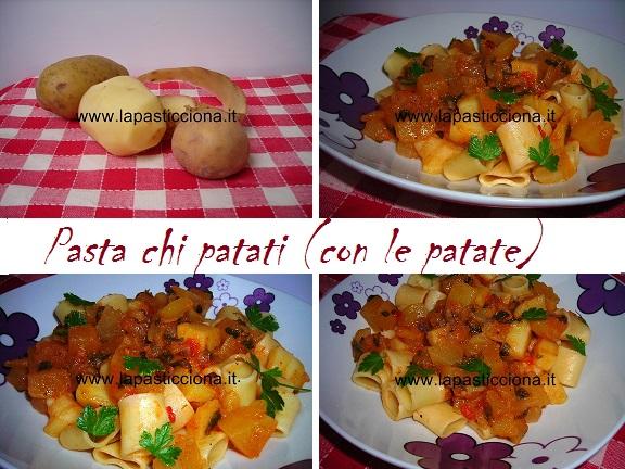 Pasta chi patati (con le patate) 8