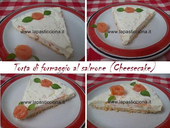 Torta di formaggio al salmone (Cheesecake) 8