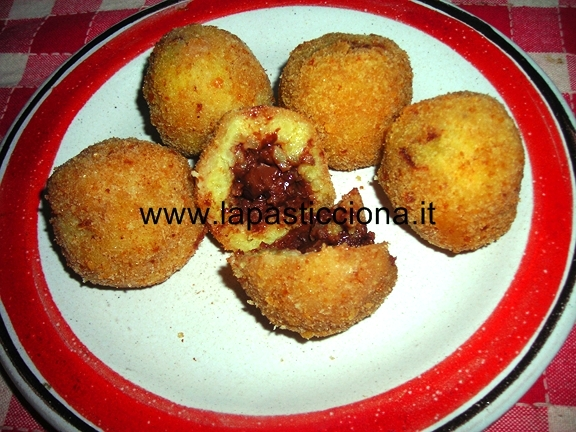 Arancine dolci  