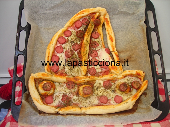 Barca di pizza