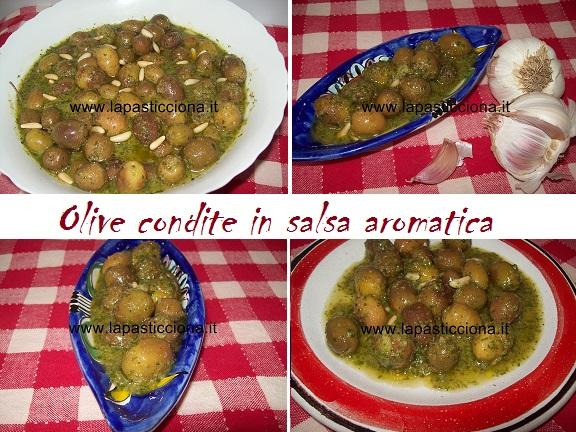 Olive condite in salsa aromatica 8