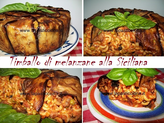 Timballo di melanzane alla Siciliana 8