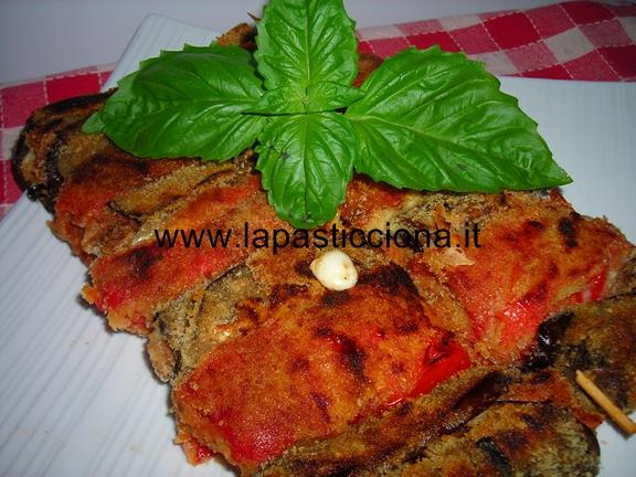 Involtini di Verdure panate al forno