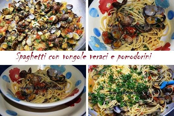 Spaghetti con vongole veraci e pomodorini 8