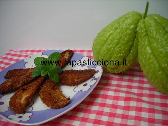 Zucchina centenaria (Chayote) a cotoletta