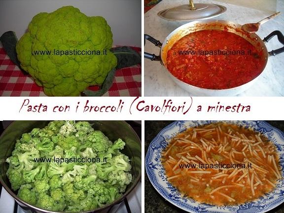 Pasta con i broccoli (Cavolfiori) a minestra 8