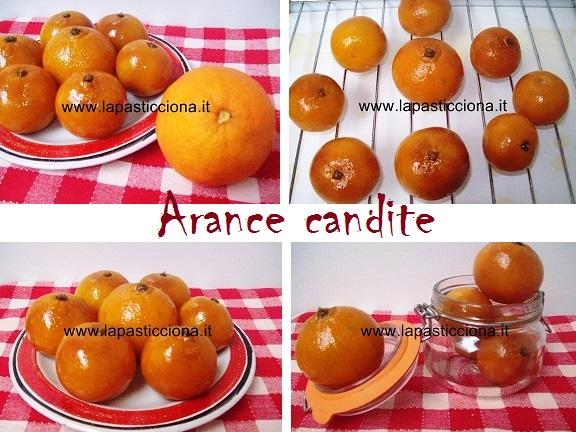 Arance candite