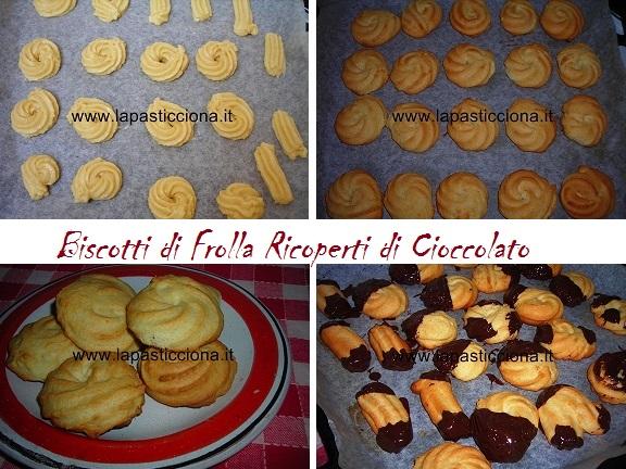 Biscotti di Frolla Ricoperti di Cioccolato 8