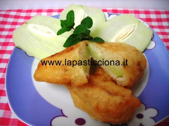 Zucchina centenaria (Chayote ) in-pastella