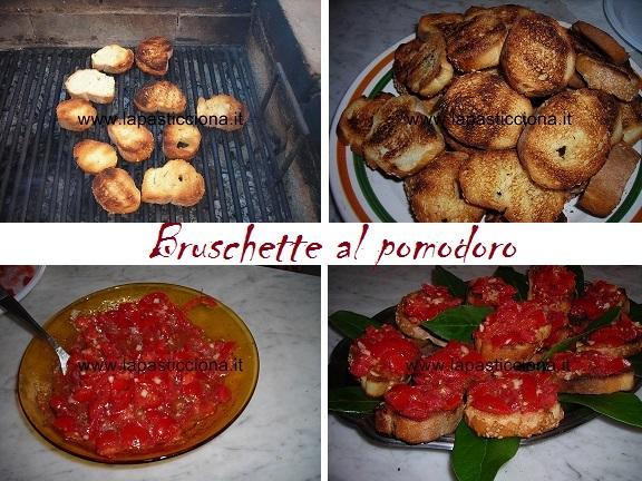 Bruschette al pomodoro 2