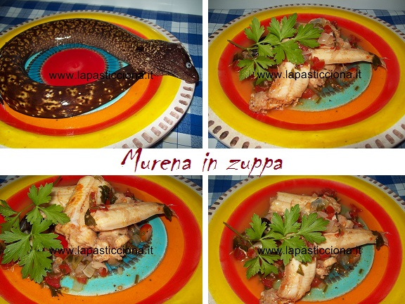 Murena in zuppa