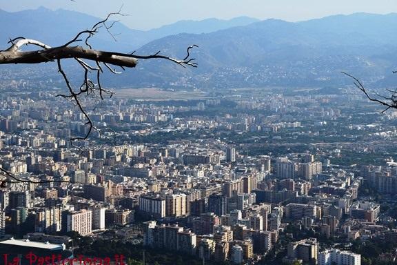 Palermo vista da Monte Pellegrino