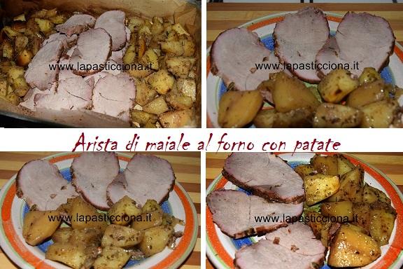 Arista di maiale al forno con patate