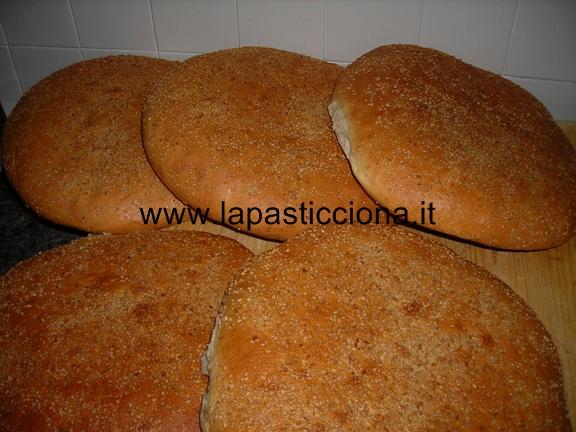 Muffuletta (pagnottella siciliana)