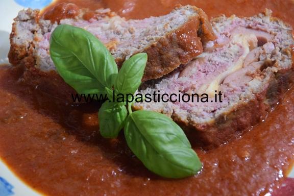 Polpettone di carne tritata alla Siciliana