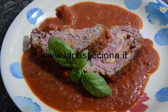 Polpettone di carne tritata alla Siciliana 3