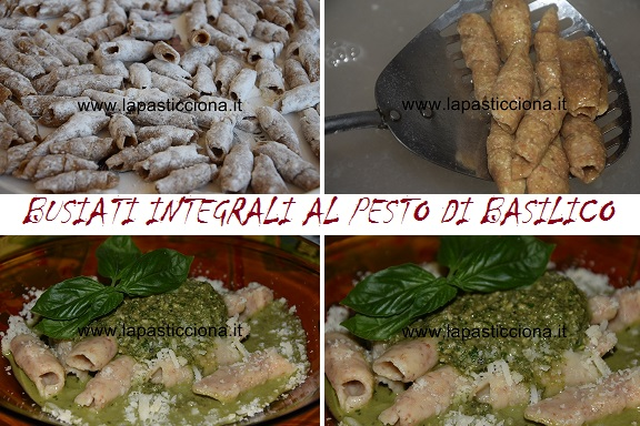 Busiati integrali al pesto di basilico 2