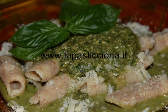 Busiati integrali al pesto di basilico 3