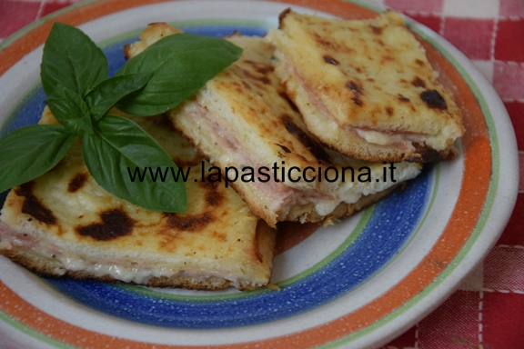 Torta di pancarrè con gorgonzola e prosciutto 3
