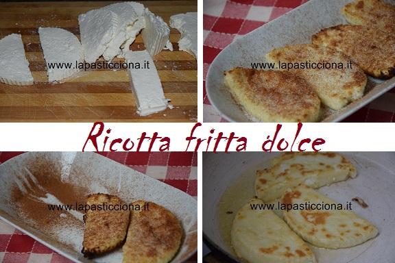 Ricotta fritta dolce 2