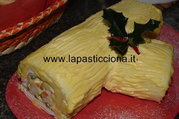 Tronchetto di Natale salato 5
