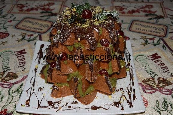 Pandoro farcito con crema al pistacchio 1