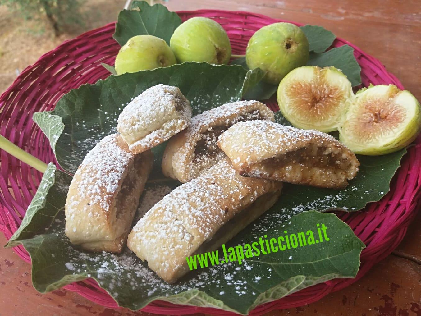 Settembrini biscotti ai fichi freschi