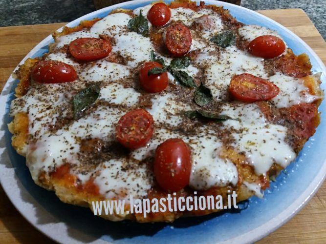 Pizza di pane raffermo