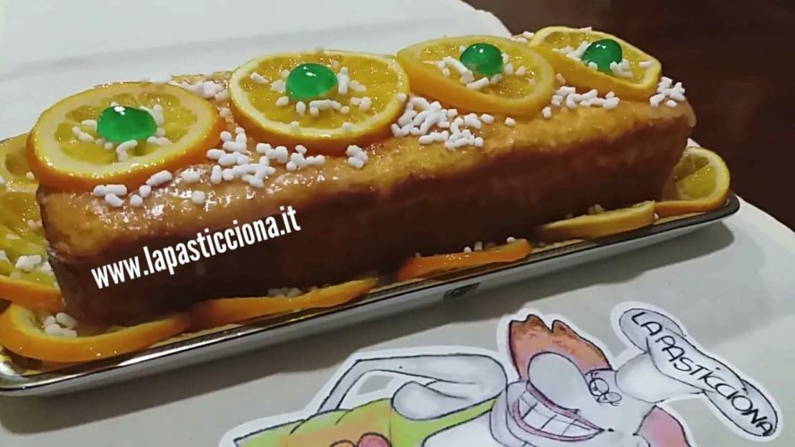Plum cake al pan d'arancio