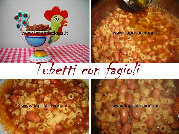 Tubetti con fagioli 8