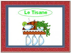 Menù Tisane