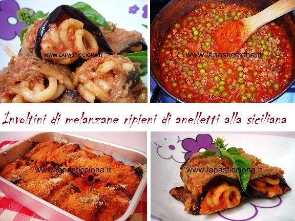 Involtini di melanzane ripieni di anelletti alla siciliana 8