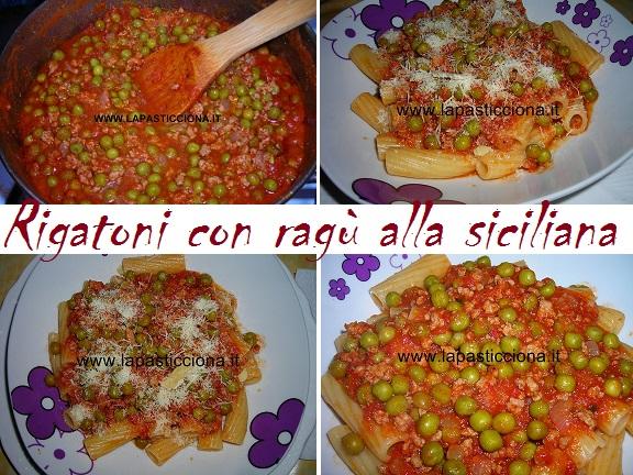 Rigatoni con ragù alla siciliana 8