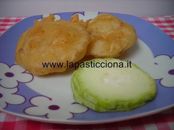 Zucchina Napoletana in pastella