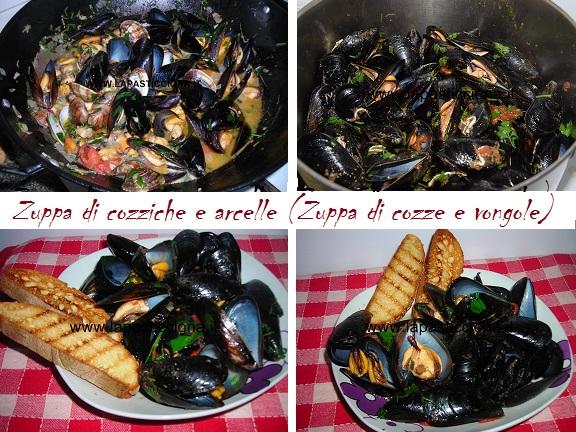 Zuppa di cozziche e arcelle (Zuppa di cozze e vongole) 8